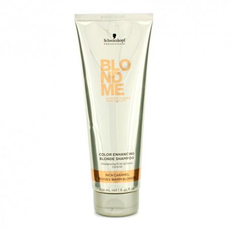 Шампунь для теплых оттенков волос Blondme Color Enhancing Rich Caramel Warm Blond Shampoo, 250 мл.