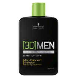 Шампунь против перхоти 3D Men Anti-Dandruff Shampoo, 250 мл, 1000 мл.