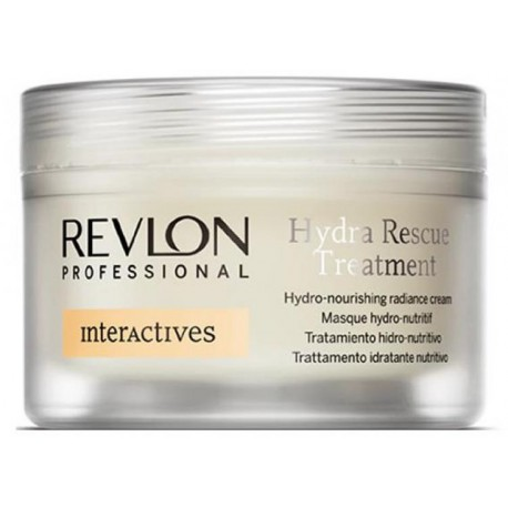Крем лечебный, увлажняющий для сухих волос Revlon Professional Hydra Rescue Treatment, 200 мл.