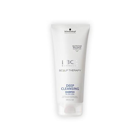 Schwarzkopf BC Bonacure Scalp Therapy Deep Cleansing Shampoo - Шампунь для глубокого очищения волос 200 мл