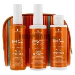 Набор солнцезащитных средств Bonacure SUN PROTECT Travel Kit 100/100/100 мл, BONACURE, 2029905