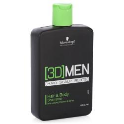 Шампунь для волос и тела 3D Mension Hair & Body Shampoo, 250 мл.
