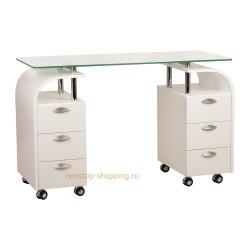 Маникюрный стол Каллас, 2-х тумбовый
