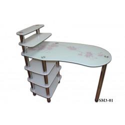 Маникюрный стол Стиль+