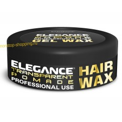 Воск Elegance Transparent Hair Wax прозрачный 140 гр., 250 гр.