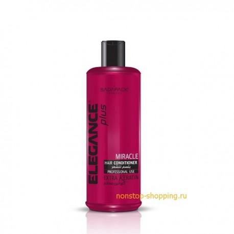 Профессиональный кондиционер Elegance Plus Hair Conditioner White Extra Keratin, с Кератином, 500 мл., 1000 мл.
