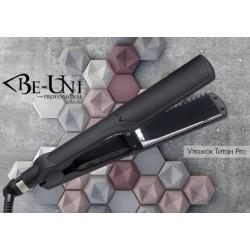 Утюжок Be-uni для выпрямления волос с зеркальным титановым покрытием